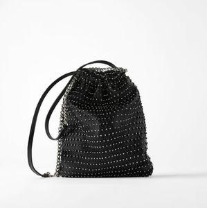 Zars Sparkly Bucket Bag